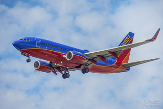 Southwest Airlines 2007 Boeing 737-7H4