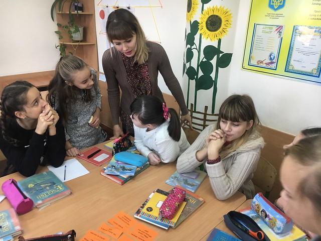 Урок – свято «Apple Day» та урок-проект «My Flat. My room»в Миколаївській ЗОШ №47