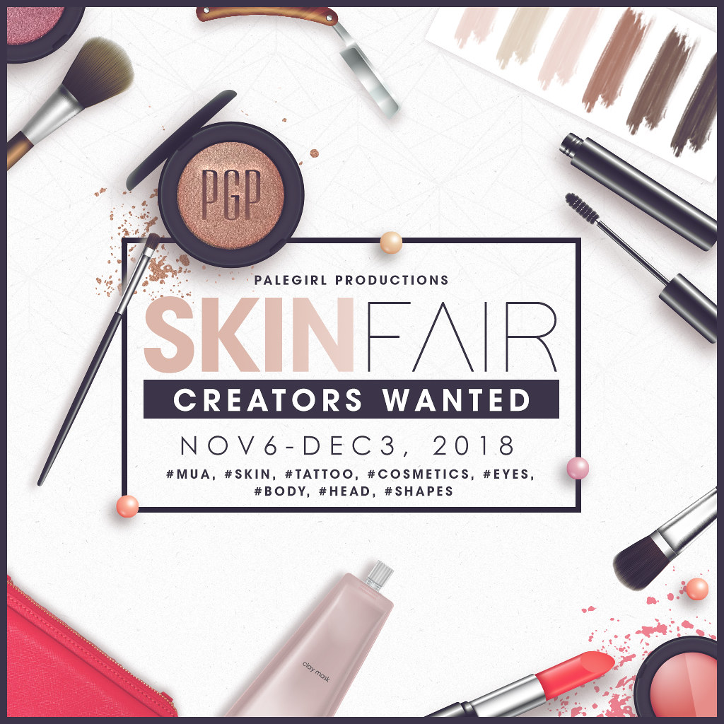 Skin Fair Applications are now Open!