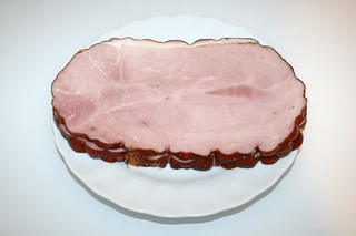 01 - Zutat Kochschinken / Ingredient boiled ham
