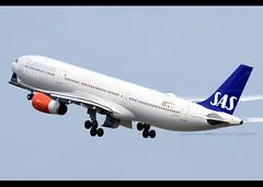 A330-343 | Scandinavian Airlines | LN-RKS | HKG
