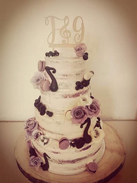 Nude Wedding Cake by Costa Irene