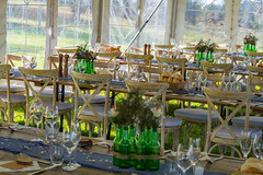 Wedding in a Marquee