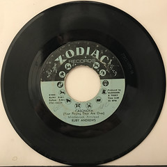 RUBY ANDREWS:CASANOVA(YOUR PLAYING DAYS ARE OVER)(RECORD SIDE-A)
