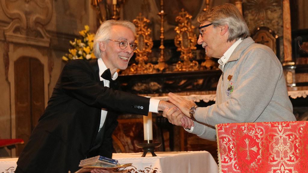 Rassegna del Santo 2018  06 - 10 - 2018   I Maestri   A. Cappellari  e  D. Carugati
