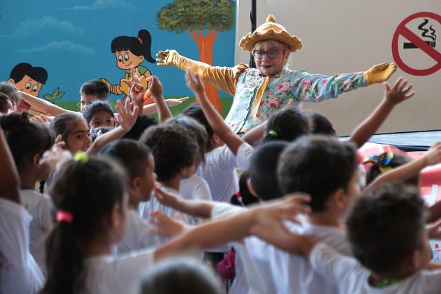 09.10.18 Festa da Criança na Escola Municipal Silvia Helena Costa de Oliveira Boneti