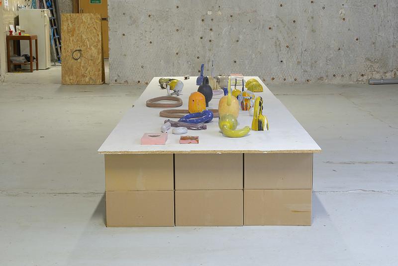 Exposition : Tangence en cours, camille Vivier & Zuzana Hlivarova