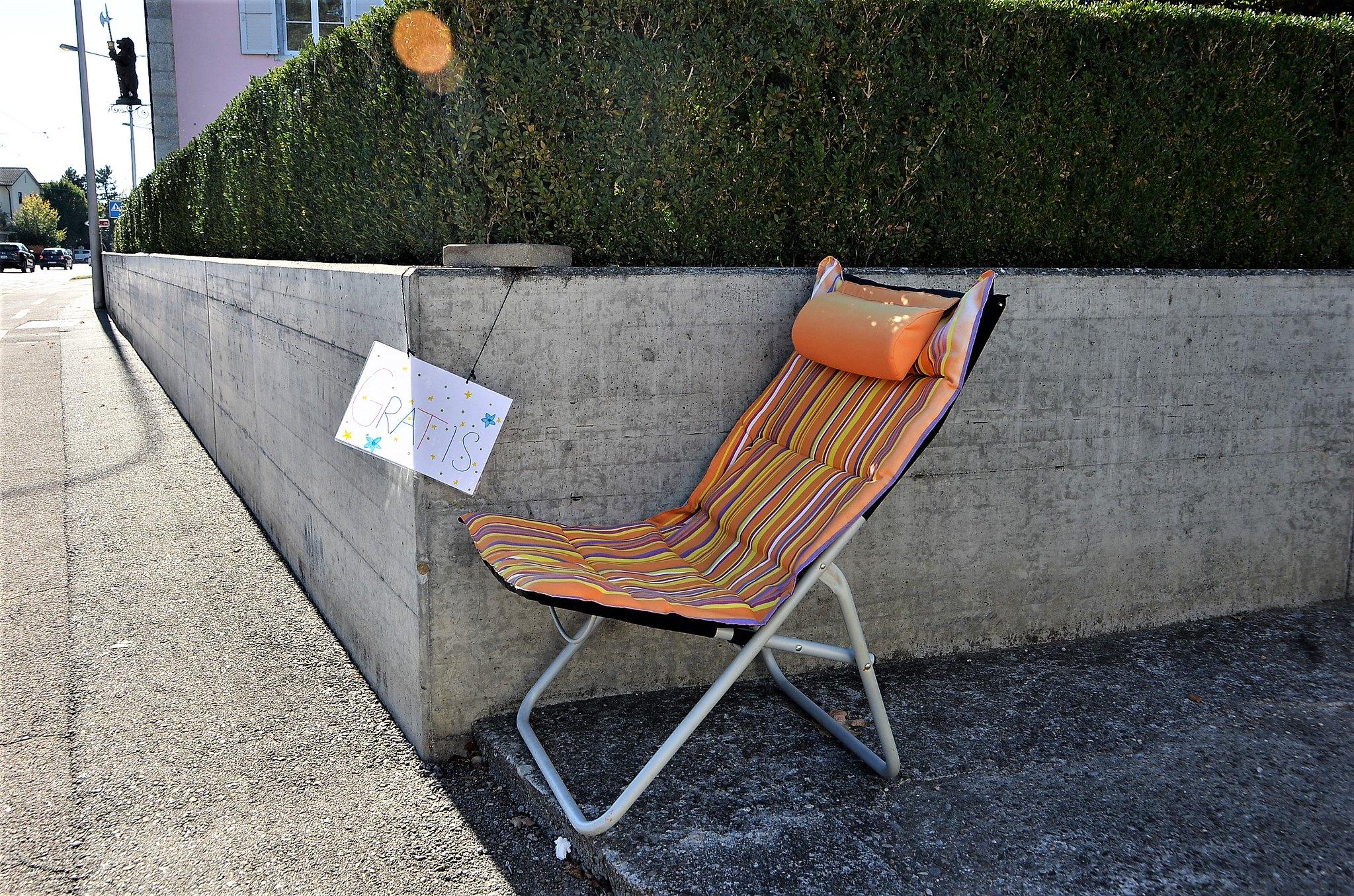Deckchair Baselstrasse 13.10.2018