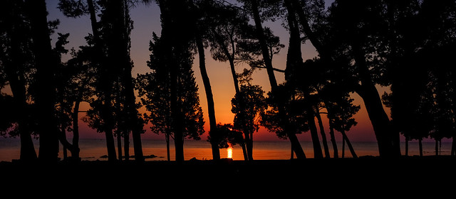 Umag Sunset in October, Fujifilm X-T1, XF18-135mmF3.5-5.6R LM OIS WR