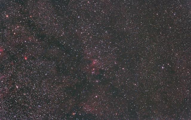 Cave Nebula region