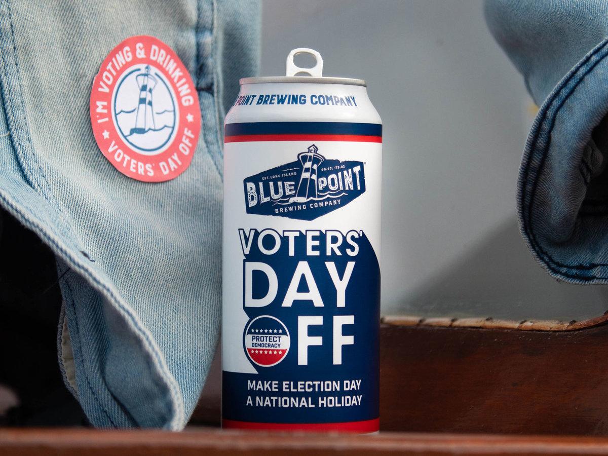 В США выпустили пиво в поддержку того, чтобы день выборов стал выходным