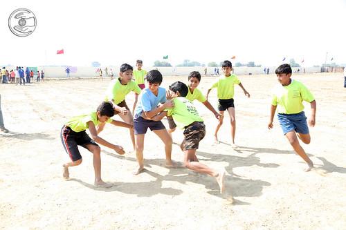 Kabaddi by boys