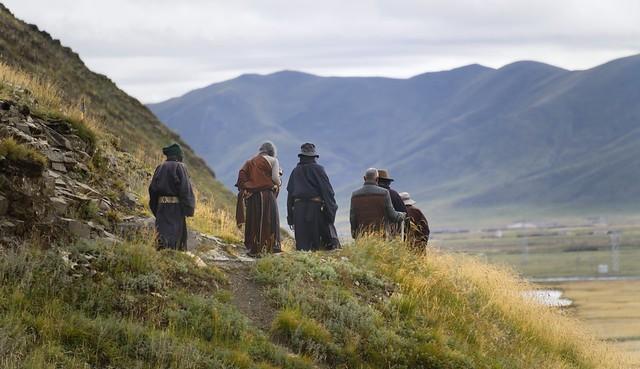 Along the kora of Sershul, Tibet 2018