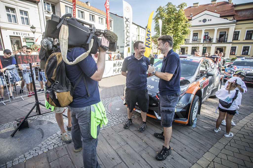 ERC STAFF, during the 2018 European Rally Championship PZM Rally Poland at Mikolajki from September  21 to 23 - Photo Gregory Lenormand / DPPI