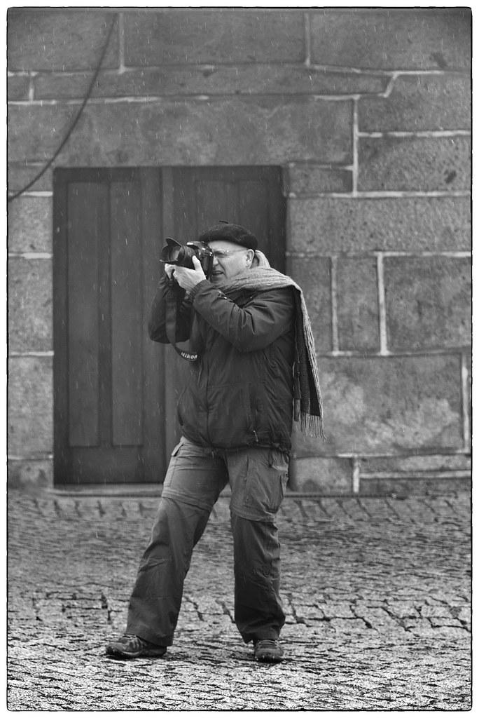 Fotógrafos em dia de nevada - Barroso (2)