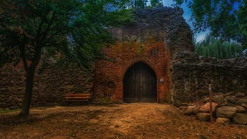 Kleine Burg in der Altmark...