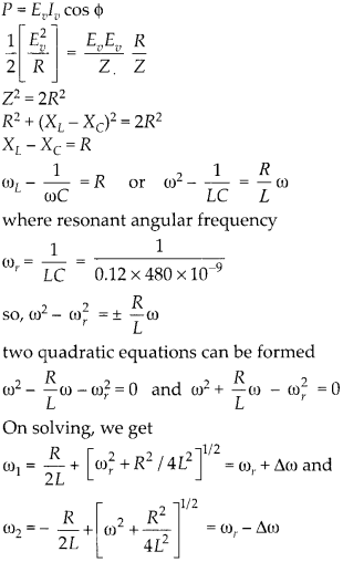NCERT Solutions for Class 12 Physics Chapter 7 Alternating Current 50