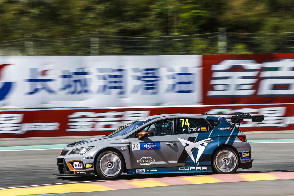 74 ORIOLA Pepe, (esp), Seat Cupra TCR team Oscaro by Campos Racing, action during the 2018 FIA WTCR World Touring Car cup of China, at Ningbo  from September 28 to 30 - Photo Jean Michel Le Meur / DPPI
