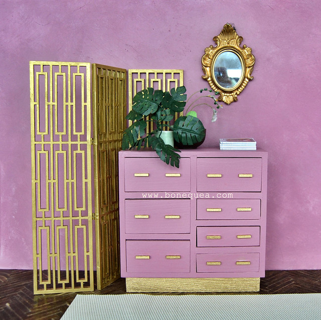 Nuevo diorama reciclando muebles viejos