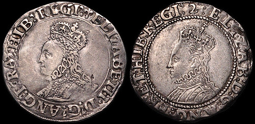 The first and last Elizabeth I Shillings