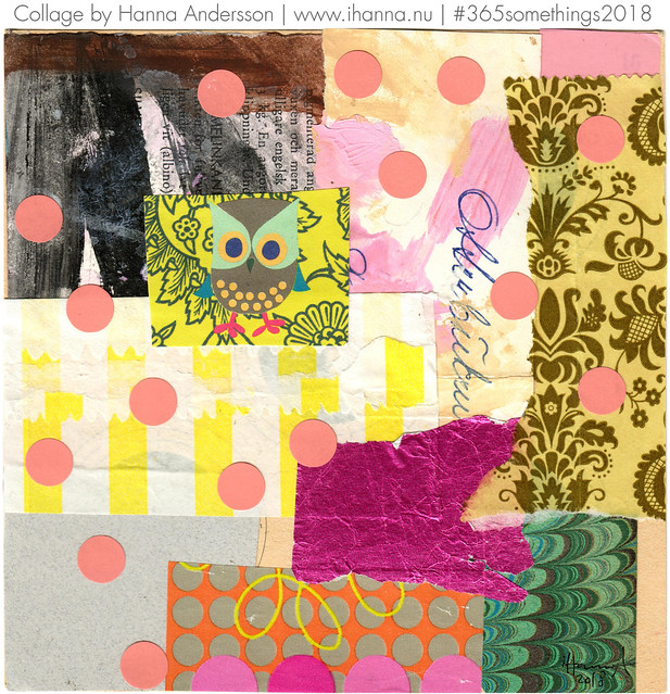 Spotted Owl - Collage no 276 by iHanna