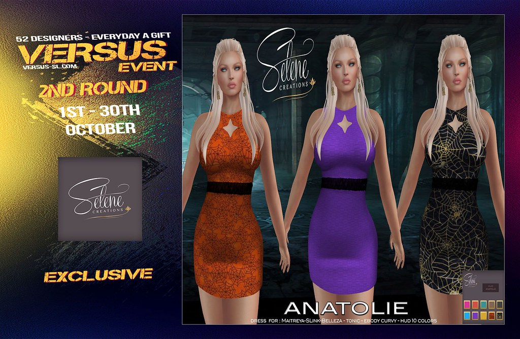 VERSUS EVENT 2ND ROUND SELENE CREATIONS Exclusive - TeleportHub.com Live!