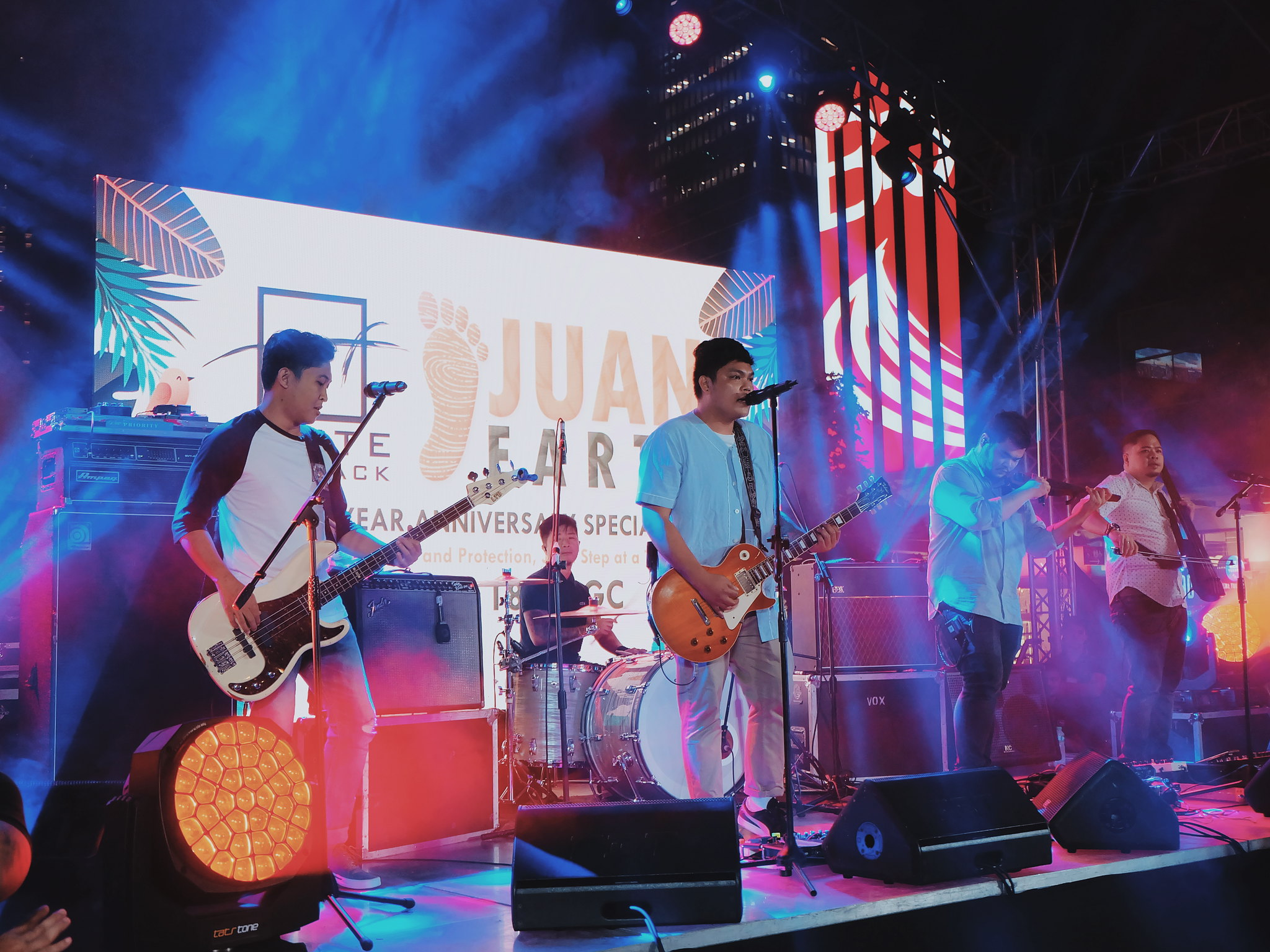 Silent Sanctuary Band Juan Earth Event 5th Anniversary Celebration