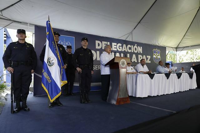 Inauguración de las nuevas instalaciones de la Delegación de policial de La Paz (17)