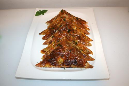 06 - Swedish salmon cake (Swedish pizza) / Schwedischer Lachskuchen (Schwedenpizza) - Serviert