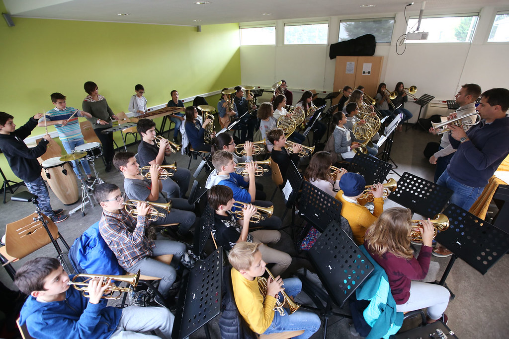 Classe-orchestre du collège Jules Ferry de Gabarret
