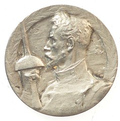French Fencing Medal obverse