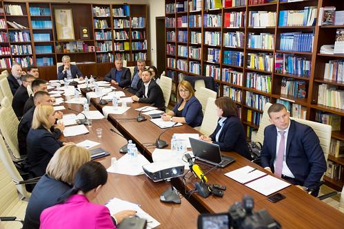 10.10.2018 Şedinţa Comisiei securitate naţională, apărare şi ordine publică
