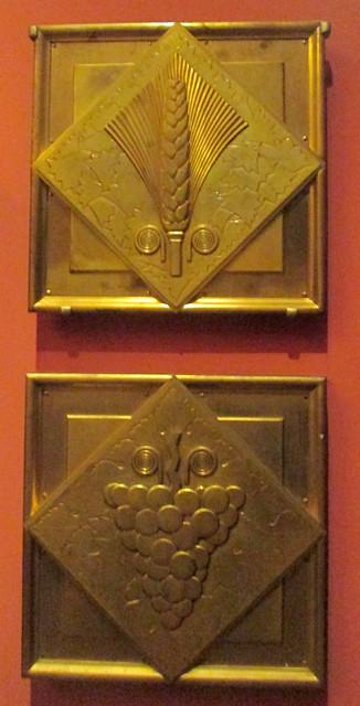 Art Deco Bronze Wall Plaques