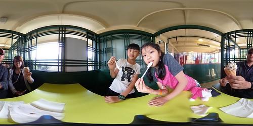 360-展哥家享用冰淇淋!