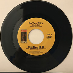 THE REAL DEAL:BOOGIE AIN'T NUTTIN'(BUT GETTIN' DOWN)(RECORD SIDE-B)