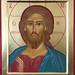 2018.  Icône du Christ Sauveur - Christ the Savior Icon.  Main de - Hand of : Carole Rivard