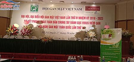 Công ty Đông Tây hân hạnh được đồng hành cùng Hội nghị gan mật toàn quốc lần thứ 14