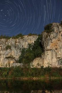 Star trails, Bouzies