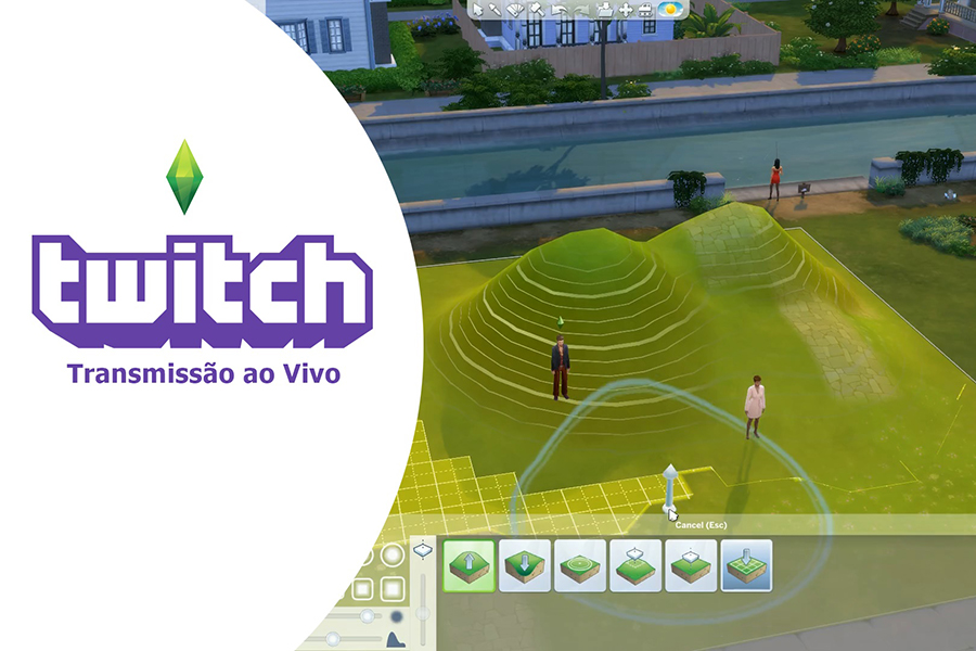 Replay: Manipulação de Terreno no The Sims 4