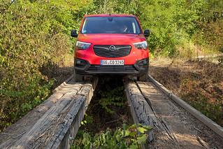 Neuer Opel Combo Cargo mit extra Grip und Stabilität