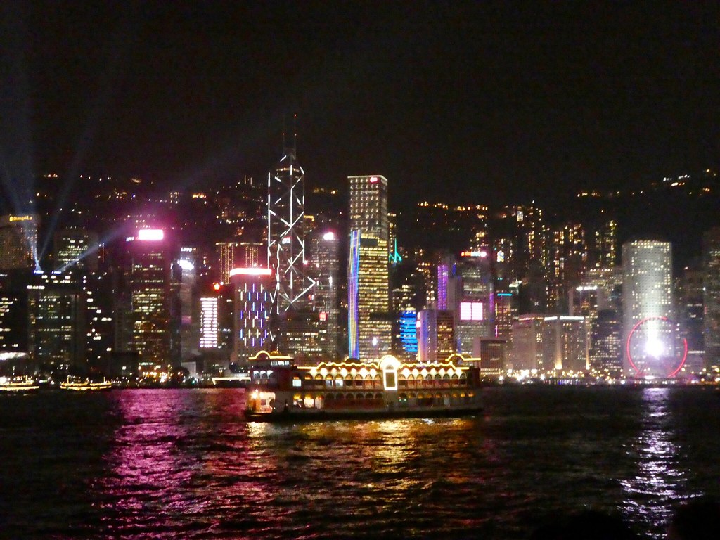 Symphony of Lights, Victoria Harbour, Hong Kong
