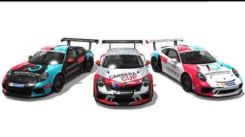 Porsche Carrera Cup Asia 2018 skins