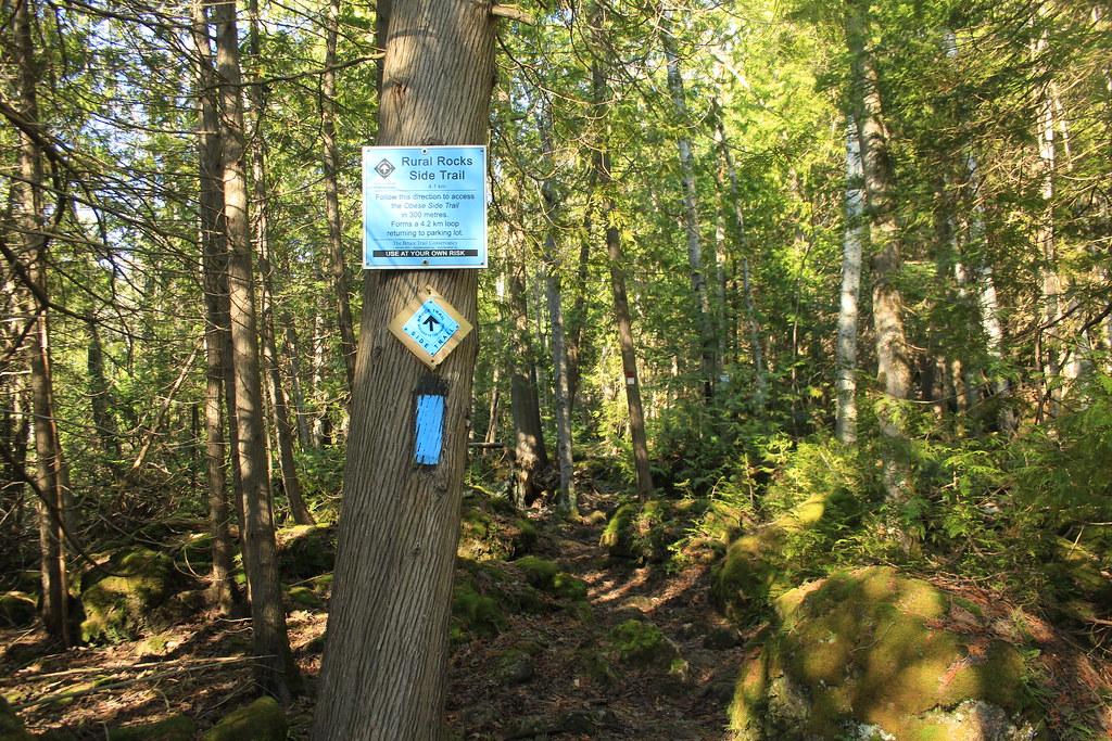 Rural Rocks Side Trail