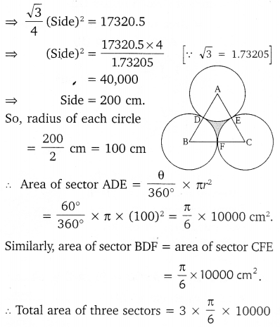 NCERT Solutions for Class 10 Maths Chapter 12 Areas Related to Circles 52