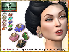 Bliensen - Coquinelle - Earrings
