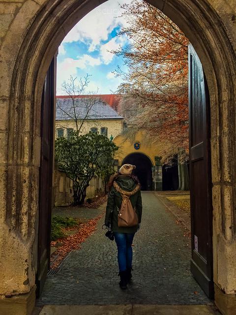 · Regensburg en un día · Exterior Basílica de San Emerano ·