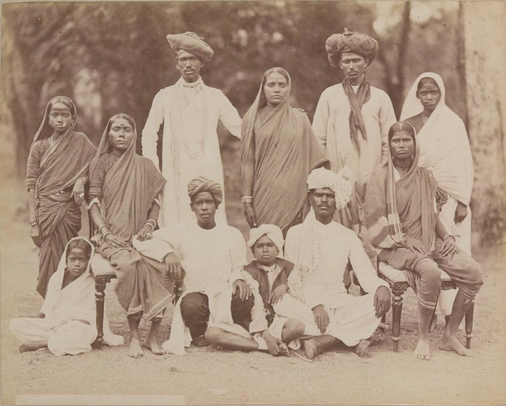 Индийская семья