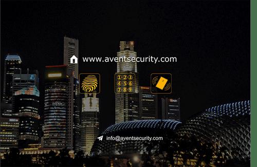 aventsecurity home safe digital door lock