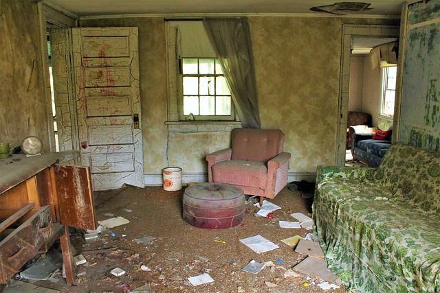 Abandonded Halltown, WV