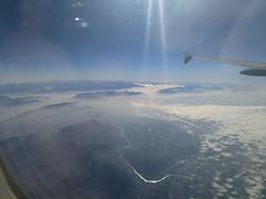 Ausblick aus dem Flieger